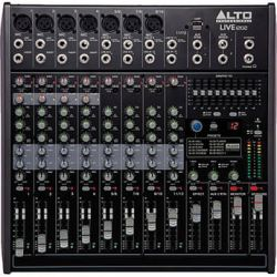 Alto Live 1202 12-Channel/2-Bus Mixer With DSP/USB LIVE 1202 B&H