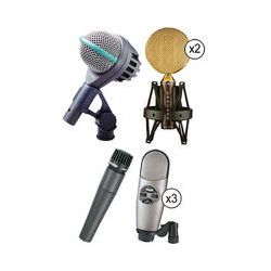 AKG  Rock And Pop Drum Microphone Kit  B&H Photo Video