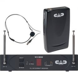 CAD StagePass WX1210HW Wireless Headworn Microphone WX1210HW B&H