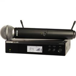 Shure BLX24R Vocal Wireless System with SM58 Mic BLX24R/SM58=-H8