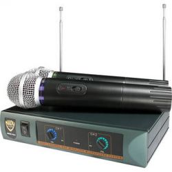 Nady DKW-Duo Dual Handheld Wireless Microphone DKW-DUO HT-B/D