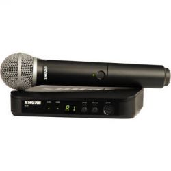 Shure BLX24 Handheld Wireless System With PG58 BLX24/PG58=-M15