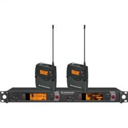 Sennheiser Dual Channel Wireless Monitoring System 2000BP2-B B&H