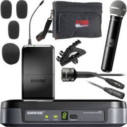 Shure PG Series Basic Wireless Lavalier and Handheld Microphone