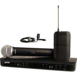 Shure BLX1288/CVL Dual-Channel Combo Wireless BLX1288/CVL-H8 B&H