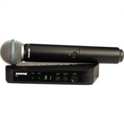 Shure BLX24 Handheld Wireless System With Beta 58A BLX24/B58=-H8