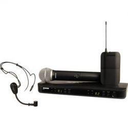 Shure BLX1288 Dual-Channel Combo Wireless BLX1288/PG30=-H8 B&H