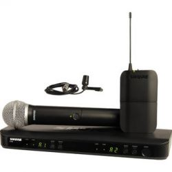 Shure BLX1288/CVL Dual-Channel Combo Wireless BLX1288/CVL-J10