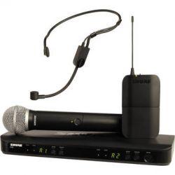 Shure BLX1288/P31 Dual-Channel Combo Wireless BLX1288/P31-H8 B&H