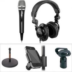 IK Multimedia IK Multimedia iPhone/iPod Podcasting Bundle B&H