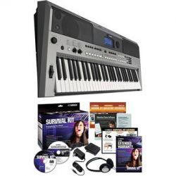 Yamaha PSR-E443 Portable Keyboard with Survival Kit PSRE443 KIT