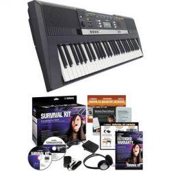 Yamaha PSR-E243 Portable Keyboard with Survival Kit PSRE243 KIT