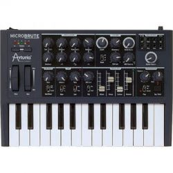 Arturia  MicroBrute Analog Synthesizer 540101 B&H Photo Video