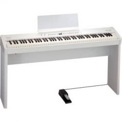 Roland  FP-4F Digital Piano (White) FP-4F-WHC B&H Photo Video