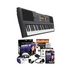 Yamaha PSR-E343 Portable Keyboard with Survival Kit PSRE343 KIT