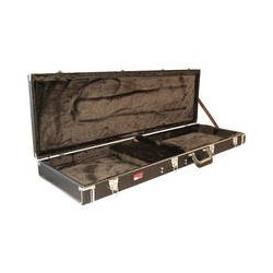 Gator Cases GW-BASS Bass Guitar Deluxe Wood Case (Black) GW-BASS