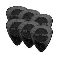 Telefunken Circle Grip .75mm Delrin Guitar Picks .75MM CIRCLE