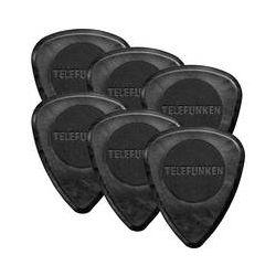 Telefunken Circle Grip 2mm Delrin Guitar Picks 2MM CIRCLE B&H