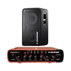 TC Electronic Staccato'51 Bass Amplifier and RS210 Speaker B&H