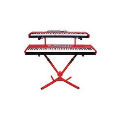 Nord  2-Tier Keyboard Stand (Red) QLY41NORD B&H Photo Video