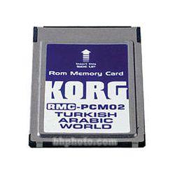 Korg RMC-PCM02 - Turkish/Arabic Styles ROM Card RMC-PCM02 B&H