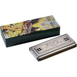 Hohner Echo 32-Hole Tremolo Harmonica (Key of G) 54-G B&H Photo