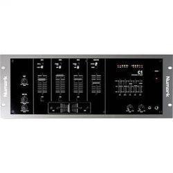 "Numark C1 3-Channel 19"" Rack Mountable DJ Mixer C1 B&H"