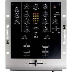 """Numark M2 - 10"""" Two-Channel DJ Mixer with 3-Band EQ M2 B&H"""