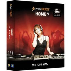 Mixvibes MixVibes HOME Edition 7 DJ Software HOME 7 B&H Photo