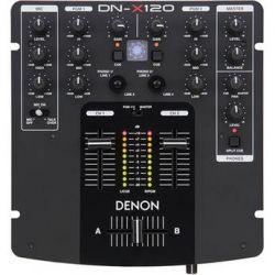 Denon DJ  DN-X120 Two Channel DJ Mixer DN-X120 B&H Photo Video