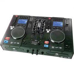 Gem Sound CMP-1200 Dual CD and MP3 DJ Mixer and MIDI CMP1200 B&H