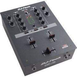 DJ-Tech DIF-1S Professional 2-Channel DJ Scratch Mixer DIF-1S