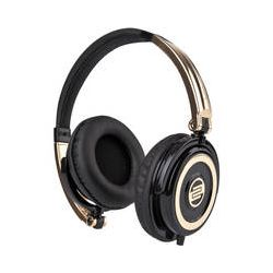 Reloop RHP-5 Gold Rush DJ Headphones w/ Smartphone RHP-5-GOLD
