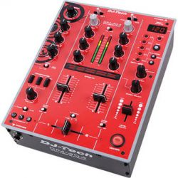 DJ-Tech DJM-303 Twin USB DJ Mixer (Red) DJM303REDEDITION B&H