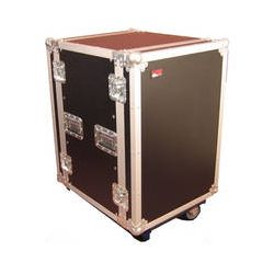 Gator Cases G-Tour 16U Cast Wheeled Rack Case G-TOUR 16U CAST