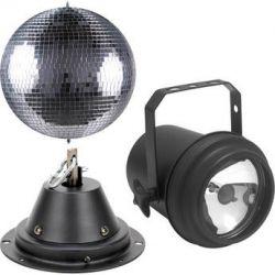 American DJ M-600L Mirror Ball with Pinspot M-600L B&H Photo