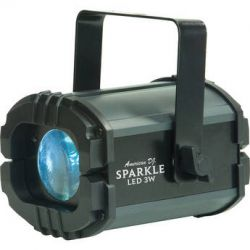 American DJ Sparkle LED Moonflower (120VAC) SPARKLE LED 3W B&H