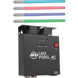 American DJ LED Pixel Tube 360 with 4-Channel LED PIXEL TUBE SYS