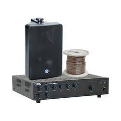 Atlas Sound Basic Single-Zone, 70V Wall Mount Sound System B&H
