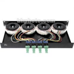 Rane KT-4 - Mounting Tray for Holding Four TF-4 Transformers KT
