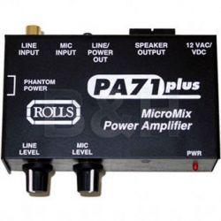 Rolls  PA71 Plus Mixer Amplifier PA71 PLUS B&H Photo Video