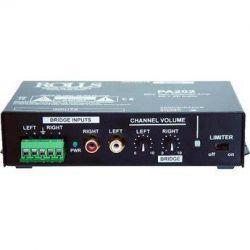 Rolls PA202 20W Class-D Mini Stereo Amplifier PA202 B&H Photo