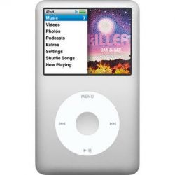 Apple 160GB iPod classic (Silver, 7th Generation) MC293LL/A B&H