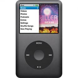 Apple 160GB iPod classic (Black, 7th Generation) MC297LL/A B&H