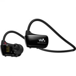 Sony 4GB W Series Walkman Sports MP3 Player (Black) NWZW273SBLK