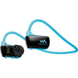 Sony 4GB W Series Walkman Sports MP3 Player (Blue) NWZW273SBLU E