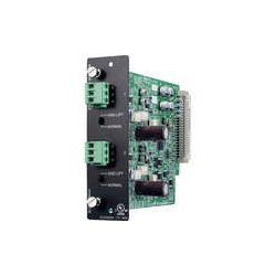 Toa Electronics D-921E - 2 x Mic/Line 24-Bit Input Module D-921E