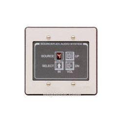 RDL SAS-RC8 Room Control Station (White & Gray) SAS-RC8 B&H