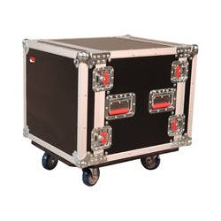 Gator Cases G-Tour 10U Cast Wheeled Rack Case G-TOUR 10U CAST