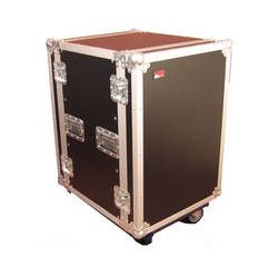 Gator Cases G-Tour 12U Cast Wheeled Rack Case G-TOUR 12U CAST